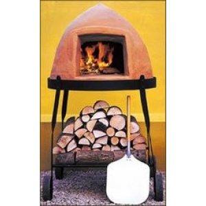 Bikuben 60 pizzaovn på stativ med 4 hjul (afhentningspris i Helsingør)