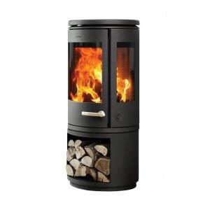 Morsø 7943 med brændemagasin  - sideglas (pris fra)