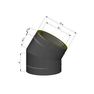 Termatech Isolerede bøjninger inkl. spændbånd