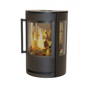 Wiking Luma 1 væghængt ovn med sideglas - eller på piedestal