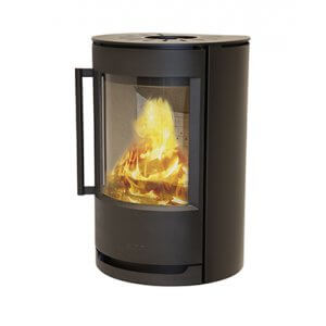 Wiking Luma 2 væghængt ovn uden sideglas eller på piedestal