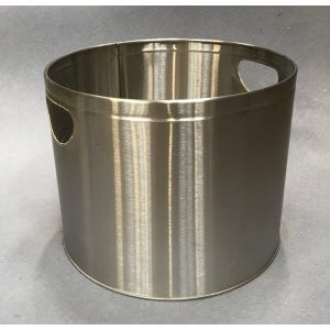 Rustfri stål brænde spand (lille model)  / så længe lager haves  / - 50%