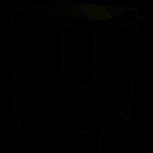 Morsø Forno udebord (lille) model Terra (afhentningspris, så længe lager haves)
