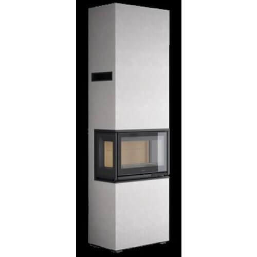 Contura i8 COSI høj, glas på 3 sider med omramning (pris fra) vælg lågetype