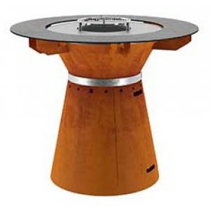 HWAM FUSION grill m/grillbord cortenstål eller sort, UDEN indsats (bestillingsvare) PRIS FRA