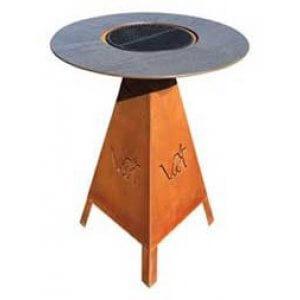 HWAM Magma grillbord i cortenstål eller sort stål (pris fra) bestillingsvare